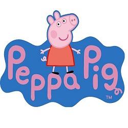 merchandising peppa pig